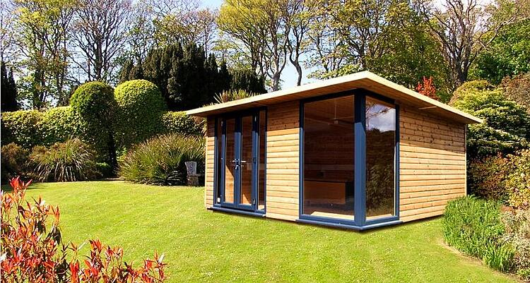 Add a unique feel to your garden by having a garden room for Your garden room
