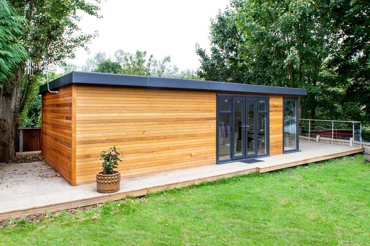 Cedar Wood Garden Room Cabin Master UK