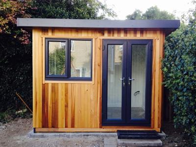 Fully insulated garden room Cabin Master UK