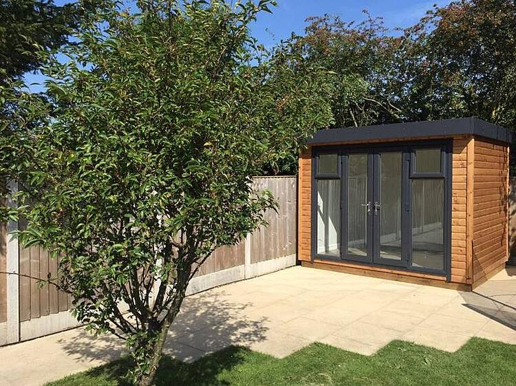 Custom Built Garden Office Vs Renting Office Space (We know which we'd go for!)