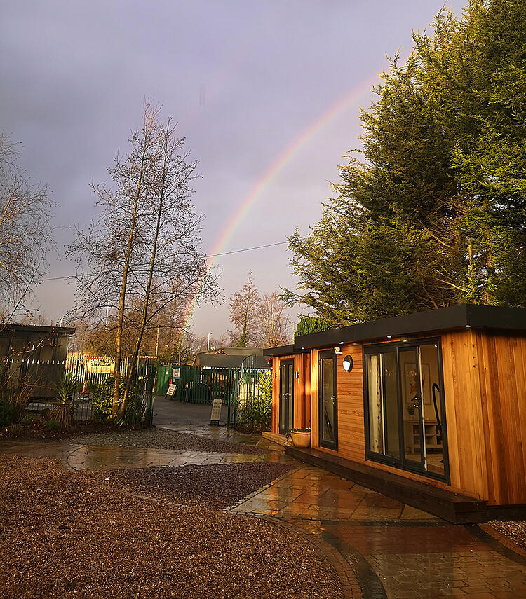 Quality wooden garden room investment Cabin Master