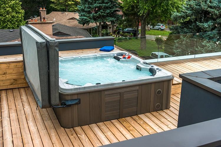 Hydropool-hot tub-insulation
