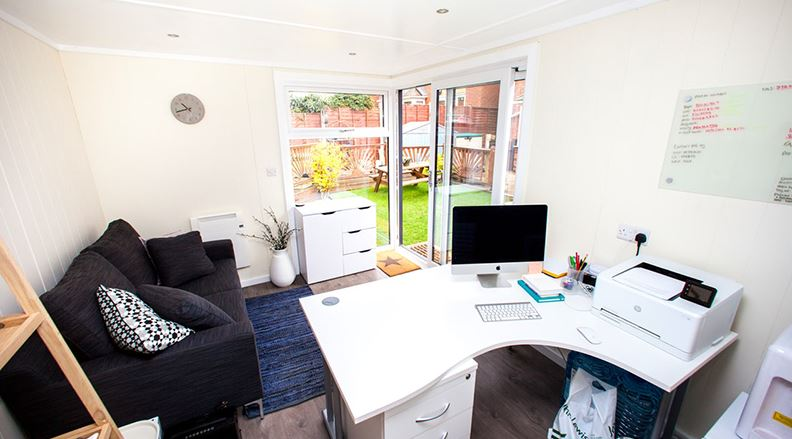 In need of a home office but don't have the space - A garden office could be the answer