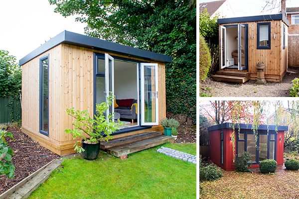 Working From home UK in your Own Garden Office Room