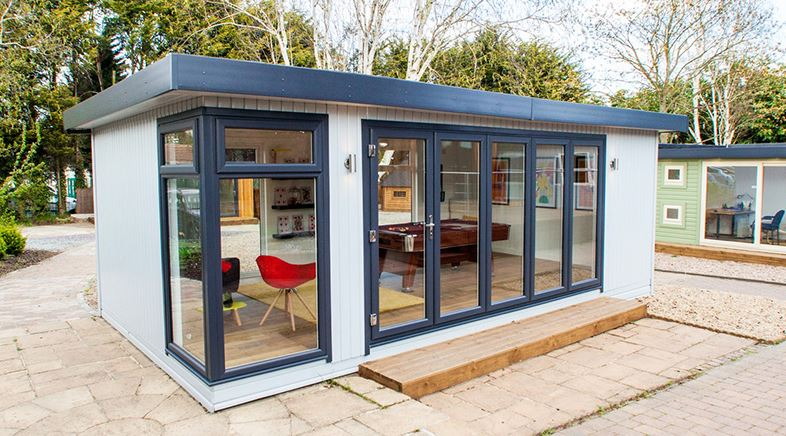 Starting up your own business - renting a room vs investing in a garden room