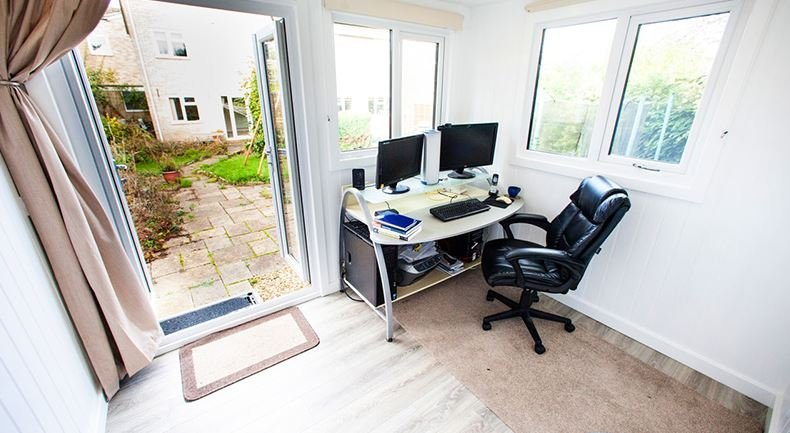 Take Full Control Of Your Work Space With A Garden Office
