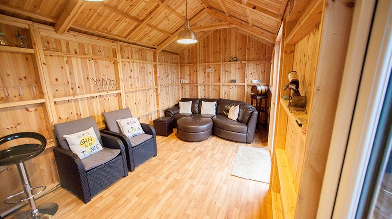 Why not invest in your very own garden room to host events & parties for friends & families this Christmas