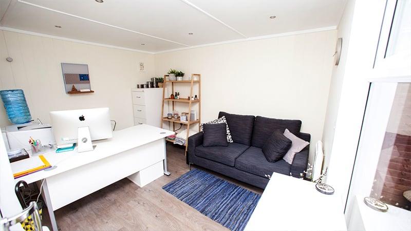 Wooden Home Office Garden Room - Copy