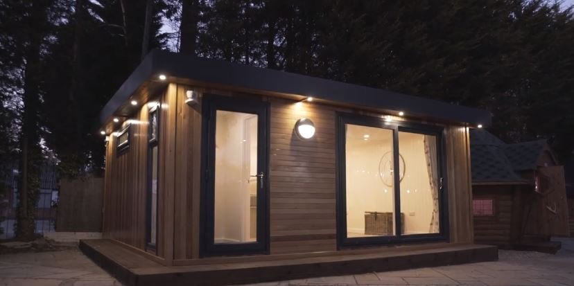 modern garden rooms create additional living space
