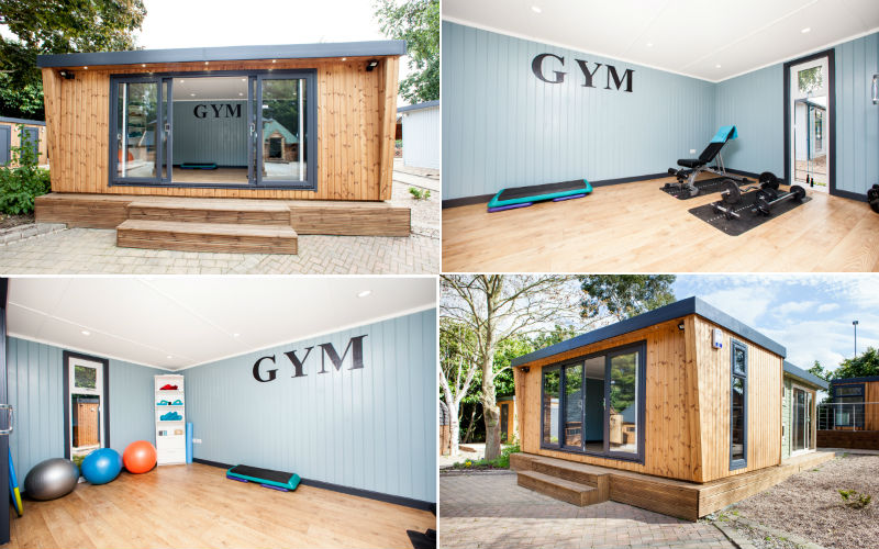 Save time money by working out in your garden gym room